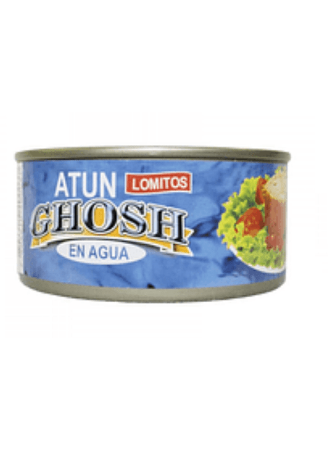 ATUN LOMITO EN AGUA GHOSH 170 G