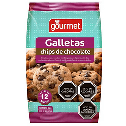 MEZCLA GALLETAS CHIPS DE CHOCOLATE GOURMET 450 G