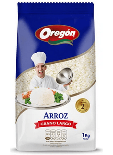 ARROZ G2 OREGON 1 KG