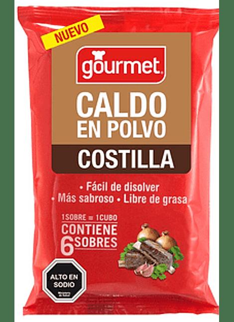 CALDO EN POLVO GOURMET COSTILLA 6 UN