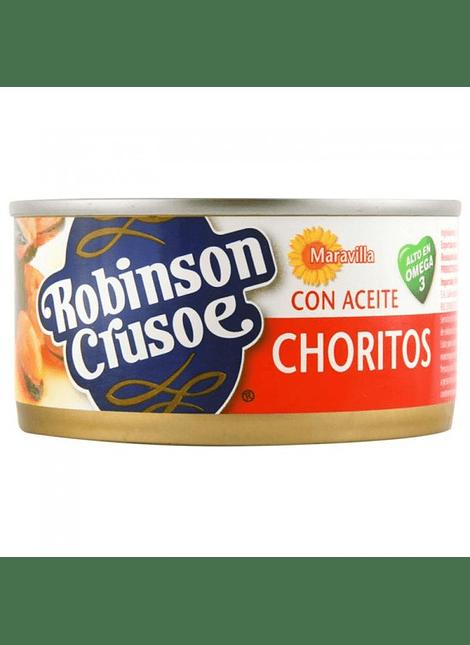 CHORITOS EN ACEITE R. CRUSOE 190 G
