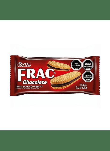 GALLETA FRAC CHOCOLATE COSTA 130 G