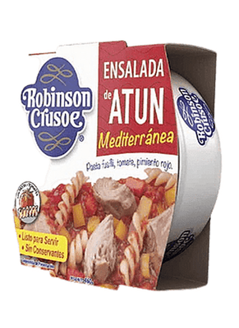 ENSALADA DE ATUN MEDITERRANEA R. CRUSOE 160 G
