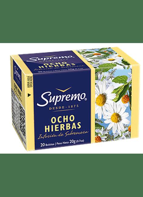 HIERBA OCHO HIERBAS SUPREMO 20 UN