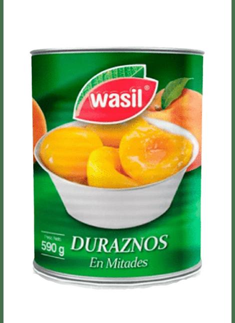 DURAZNOS MITADES WASIL 590 G