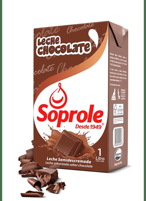 LECHE CHOCOLATE SOPROLE 1 LT