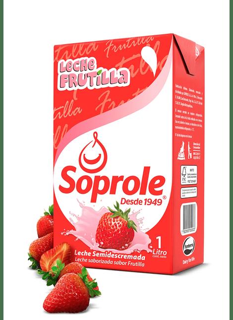 LECHE FRUTILLA SOPROLE 1 LT