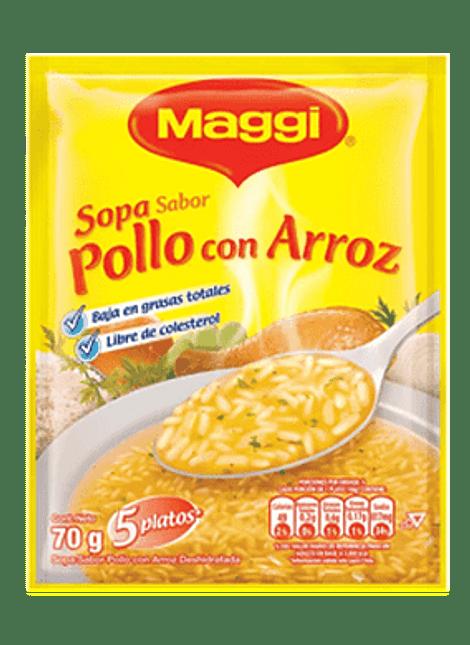 SOPA POLLO CON ARROZ MAGGI 70 G
