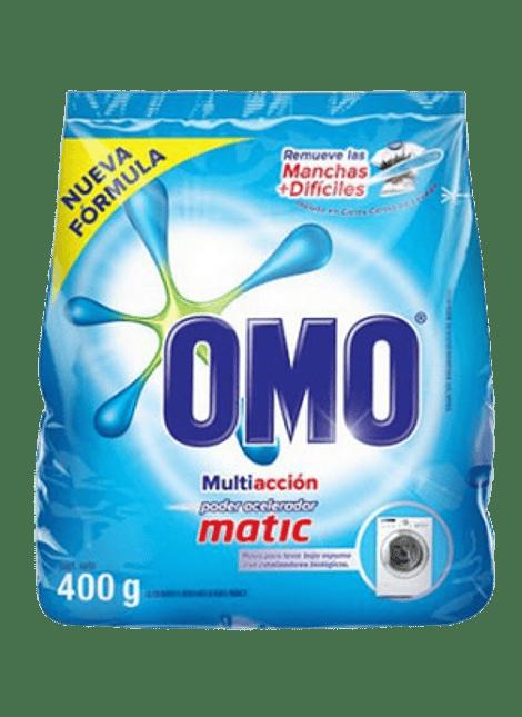 DETERGENTE OMO MATIC 400 G