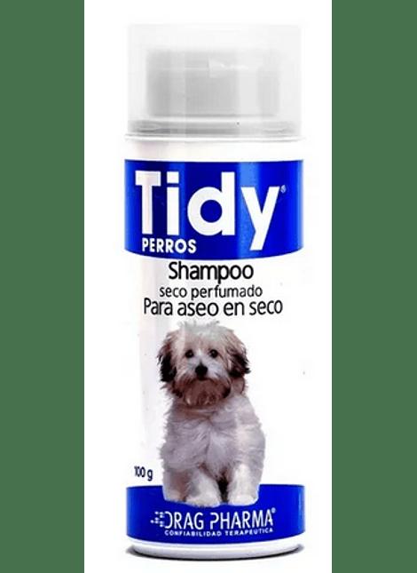 SHAMPOO SECO PERRO PERFUMADO TIDY 100 G