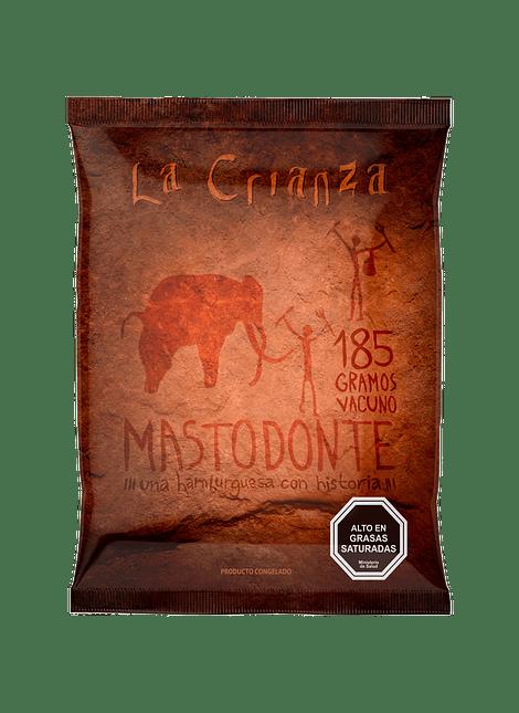 HAMBURGUESA MASTODONTE LA CRIANZA 185 G