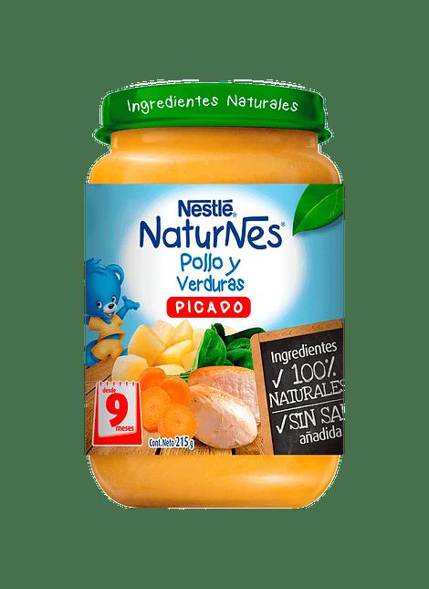 PICADO POLLO Y VERDURAS NESTLE 215 G