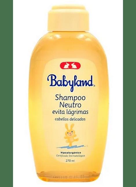 SHAMPOO BABYLAND NEUTRO 270 ML