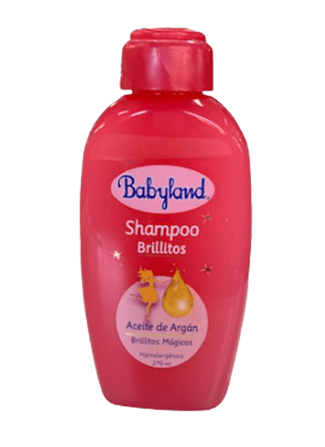 SHAMPOO HIPOALERGENICO BABYLAND BRILLITOS 270 ML