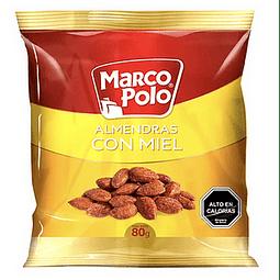 ALMENDRAS CON MIEL MARCO POLO 80 G