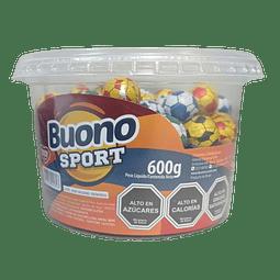 BALONES DE CHOCOLATE BUONO SPORT 600 G
