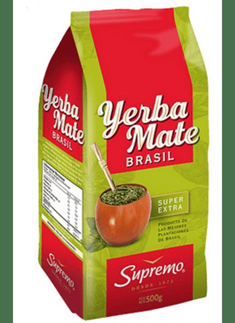 YERBA MATE BRASIL SUPREMO 500 G
