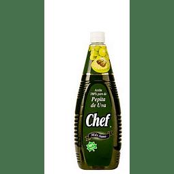 ACEITE PEPITA DE UVA CHEF 1 LT