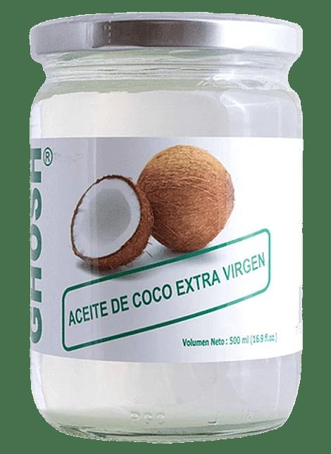 ACEITE DE COCO EXTRA VIRGEN GHOSH 500 ML