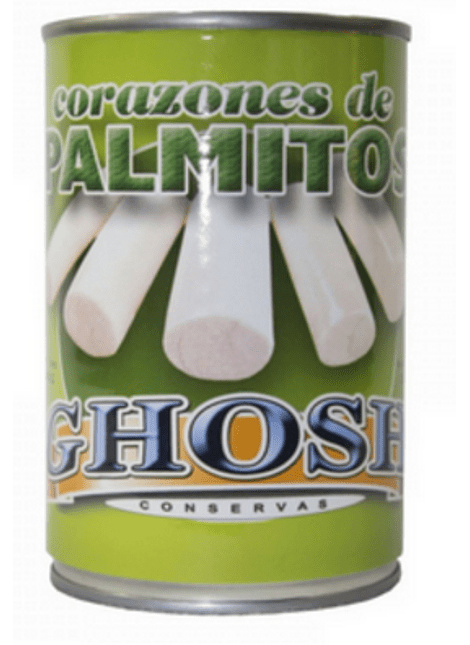 CORAZON DE PALMITOS GHOSH 400 G