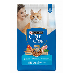 ALIMENTO GATO ADULTO  PESCADO CAT CHOW 3 KG