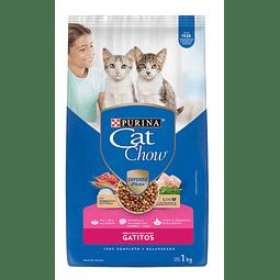 ALIMENTO GATITOS CAT CHOW 1 KG