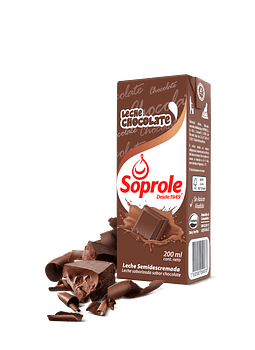 LECHE CHOCOLATE SOPROLE 200 ML