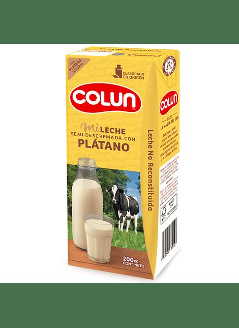 LECHE PLATANO COLUN 200 ML
