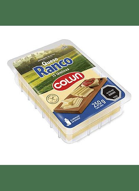 QUESO RANCO LAMINADO COLUN 250 G