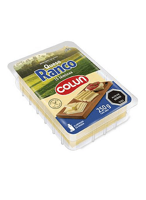 QUESO RANCO LAMINADO COLUN 250 G