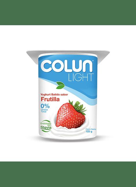 YOGHURT LIGHT FRUTILLA COLUN 125 G