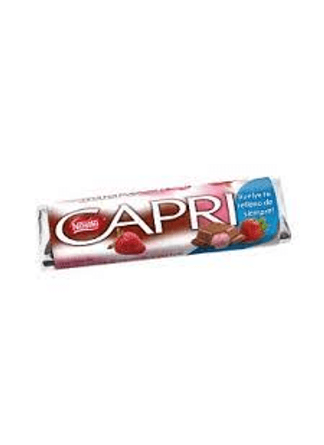 CHOCOLATE CAPRI FRUTILLA 30 G