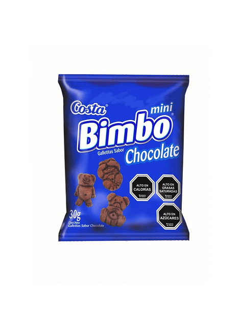 GALLETA BIMBO CHOCOLATE COSTA 30 G