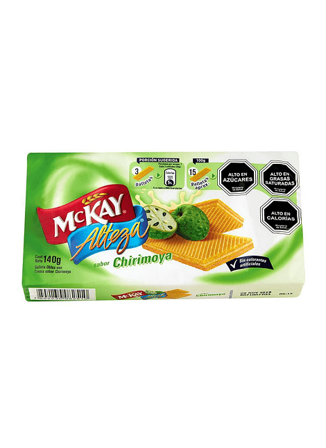 GALLETA ALTEZA CHIRIMOYA MCKAY 140 G