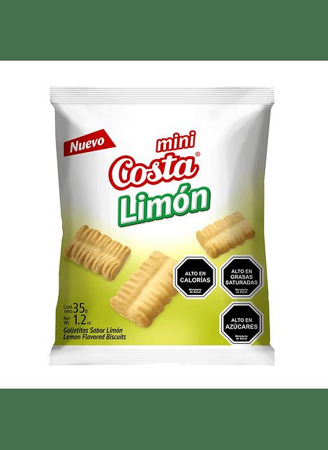 GALLETA MINI LIMON COSTA 35 G