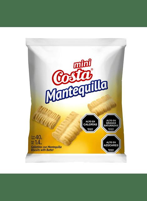 GALLETA MINI MANTEQUILLA COSTA 40 G