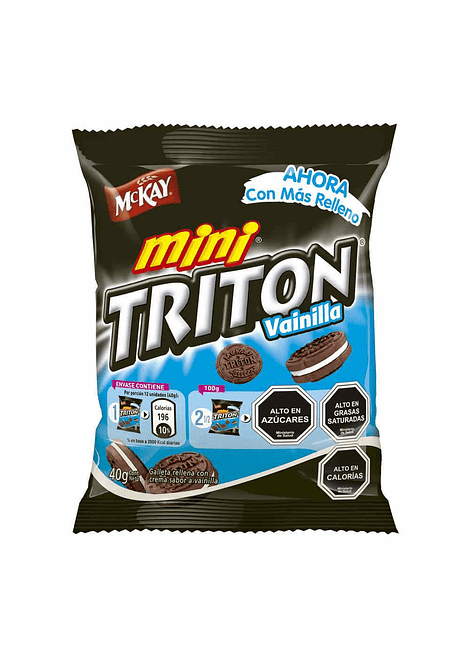 GALLETA MINI TRITON MCKAY 40 G