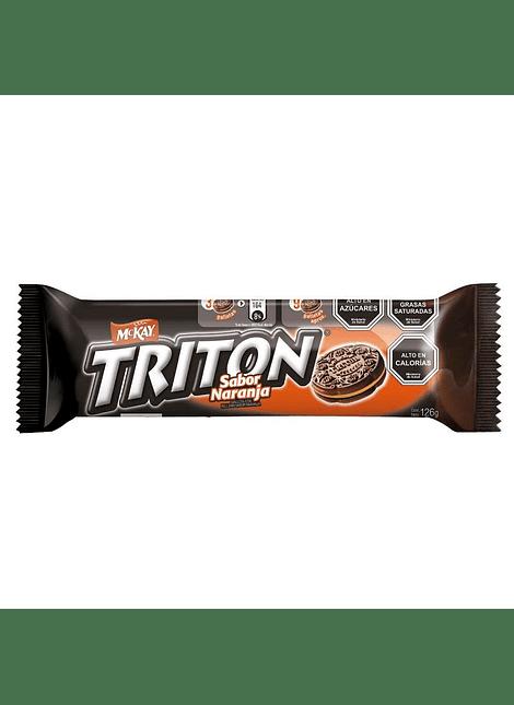 GALLETA TRITON NARANJA MCKAY 126 G