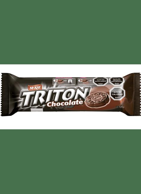 GALLETA TRITON CHOCOLATE MCKAY 126 G