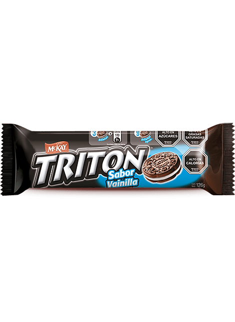 GALLETA TRITON VAINILLA MCKAY 126 G