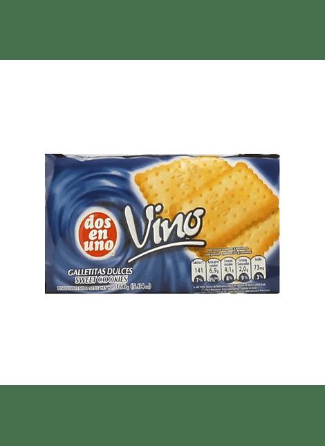 GALLETA DE VINO DOS EN UNO 160 G