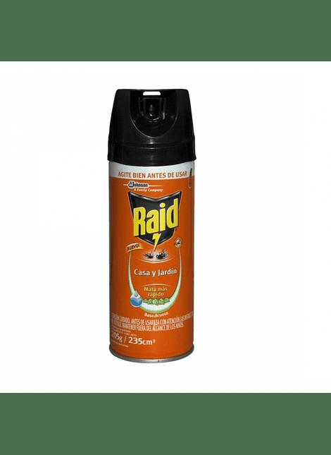 RAID CASA Y JARDIN SIN OLOR 235 CC