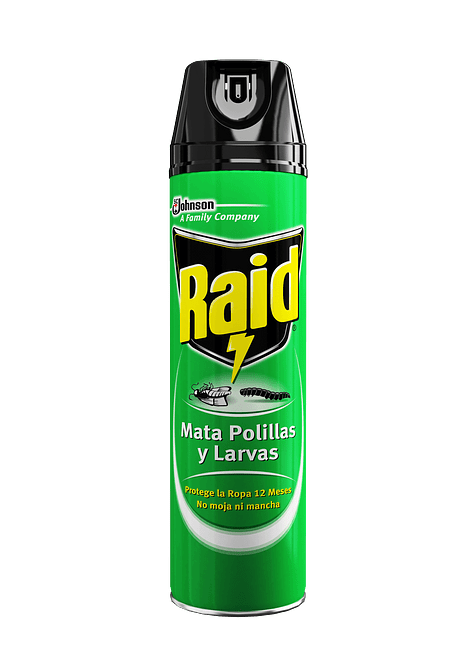 RAID POLILLAS-LARVAS 390 CC