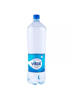 AGUA MINERAL VITAL CON GAS 1.6 LT