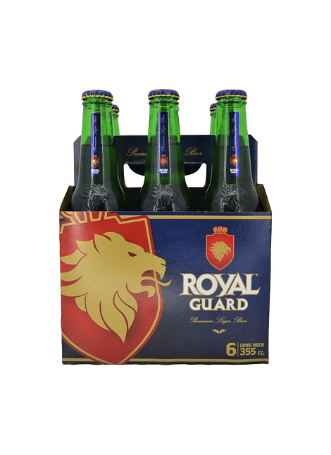 PACK CERVEZA ROYAL BOTELLIN 6 UN