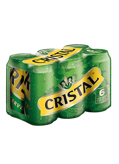 PACK CERVEZA CRISTAL LATA 6 UN