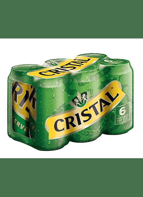 PACK CERVEZA CRISTAL 6 LATAS