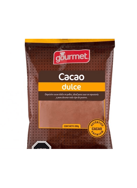 CACAO DULCE GOURMET 200 G
