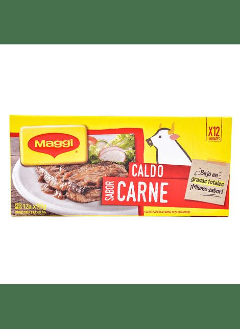 CALDO CARNE MAGGI 12 UN