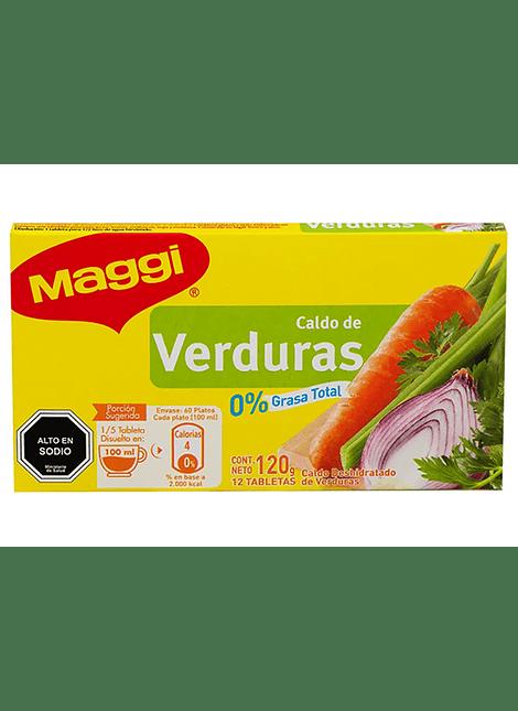 CALDO VERDURAS MAGGI 12 UN